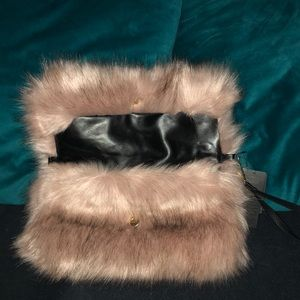Forever 21 Bags - Woman Fuzzy Clutch, Wristlet,